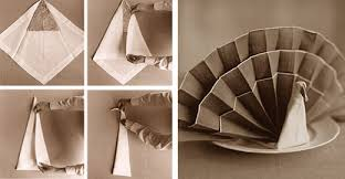 how to fold napkins for thanksgiving how to fold napkins beautifully