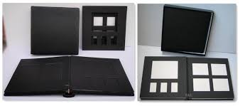 professional leather photo albums handmade paper photo album factory in china wholesale with box