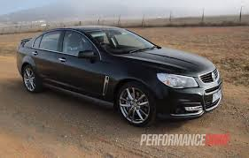 holden ssv video performance drive reviews the holden vf ssv redline chevy