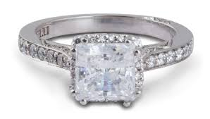 tacori dantela tacori dantela princess halo engagement ring with diamonds