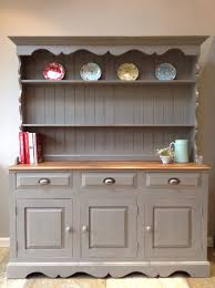 Rustic Painted Kitchen Cabinets by Painted Welsh Dresser Diy Projects To Try Pinterest Welsh