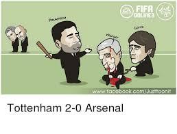 Arsenal Tottenham Meme - pochettino ea fifa sports online3 corte wwwfacebookcomjusttoonit