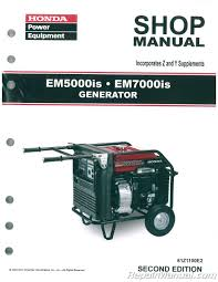 100 honda generator 1000 overhaul manual model ta 10 270 h