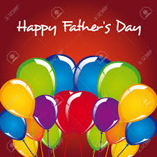 fathers day balloons s day balloons vector illustration royalty free cliparts