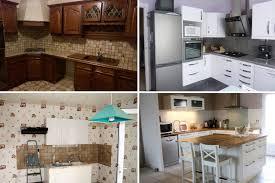 cuisine avant apres relooking intégral de cuisines avant après construction and