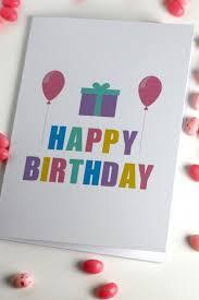 27 best diy birthday cards images on pinterest handmade cards