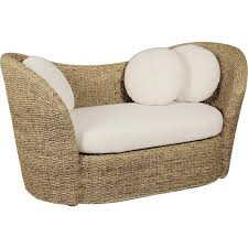 modèle canapé canapé en rotin contemporain manae modèle 1