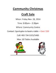 community christmas craft sale siksika nation siksika nation