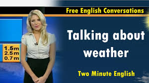 Show Me The Weather Map Talking About The Weather Learn English Quickly With Free
