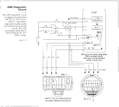 2002 toyota camry wiring diagram the obd diagnostic circuit toyota engine systems