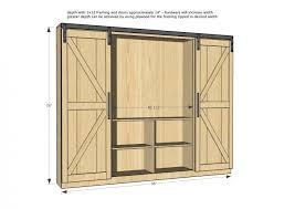 white sliding door cabinet ana white sliding door cabinet for tv diy projects door ideas