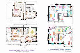 simpsons house floor plan simpsons house plan escortsea