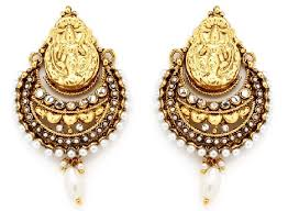 design of earrings 9 temple design earrings styles at