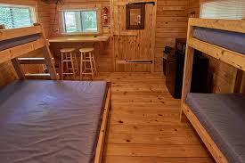cabin floor copake koa rental cabins