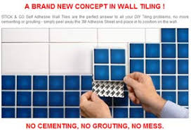 Bathroom Tile Makeover - stick u0026 go tiles at the home improvement web