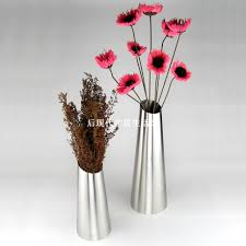 Vase Home Decor Compare Prices On Stainless Steel Vases Online Shopping Buy Low