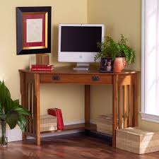 Small Corner Computer Desks Small Corner Desk With Storage Style Brown Wood Small Corner