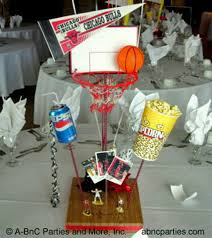 basketball centerpieces custom theme centerpiece decorations for and events