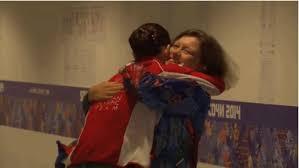 figure skater adelina sotnikova shows you how to celebrate a medal