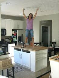 building an island in your kitchen diy kitchen island with seating how to build a kitchen island with
