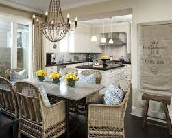 Best  Wicker Dining Chairs Ideas On Pinterest Eat In Kitchen - Wooden dining table with wicker chairs