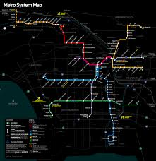 Los Angeles Gangs Map Territory by Los Angeles County Metro Rail And Metro Liner Map Png