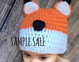 Baby Fox Halloween Costume Fox Hat Animal Hat Baby Fox Hat Fox Costume Fox Beanie