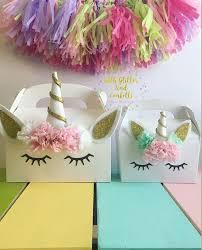favor favor baby set of 10 favor boxes party favor favor box unicorn party favor