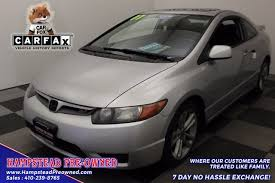 07 honda civic si for sale 2007 honda civic si si for sale in hstead md from hstead