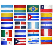Flags Countries 20 Latin American Countries Complete Flag Set