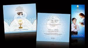 Death Anniversary Invitation Card C U0026 O Ad Ventures First Holy Communion Invitation Card Design
