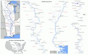 Cairo Illinois Map by Mississippi River General
