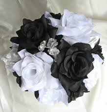 silver roses black white silver roses and dreams