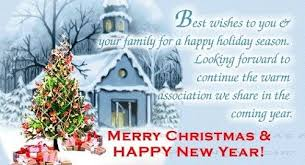 best wishes to you and your family this season merry