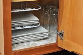 Under Sink Shelves by Awesome Under Sink Cabinet Liner On Kitchen Cabinet Cabinet