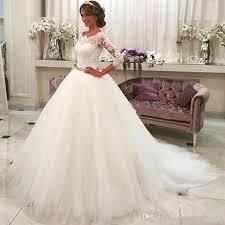 simple wedding dress vestido de noivas 2017 sales saudi arabic