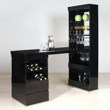 corner bar cabinet black corner bar cabinet for home wine contemporary with wood staircase