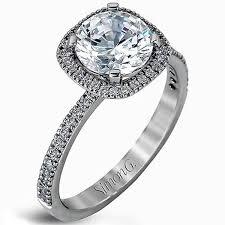 cushion halo engagement rings g cushion halo thin engagement