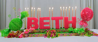 Sweet 16 Candelabra How To Make Candy Themed Sweet 16 Centerpieces Awesome Events Blog