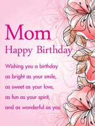 for my beautiful happy birthday wish card