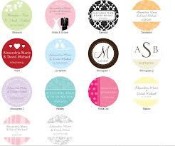 labels for wedding favors wedding favor labels awesome personalized wedding stickers for