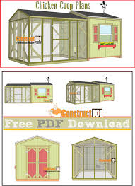 large chicken coop plans pdf download construct101