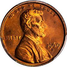 penny s united states 1969 s lincoln memorial cent