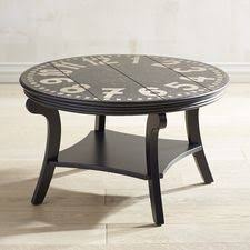 Clock Coffee Table by Coffee Tables Round U0026 Glass Coffee Tables Pier 1 Imports