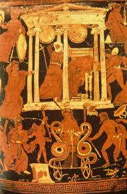 Different Types Of Greek Vases 415 Roman Tragedy Classical Drama And Theatre
