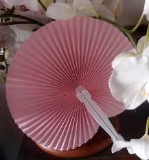 paper fans bulk 9 pink folding accordion paper fan for weddings 10
