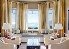 Drapes For Bay Window Pictures Four Stylish Window Treatments For Bay Windows