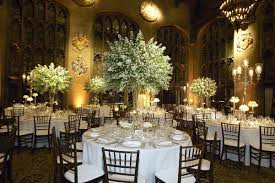 Tree Centerpiece Wedding by Romantic All White Celebration In Chicago Illinois Inside Weddings