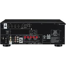 home theater receiver 2 hdmi outputs pioneer vsx 824 k 5 2 channel networked home theater av receiver
