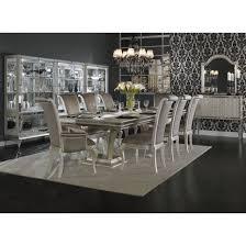 michael amini dining room furniture aico michael amini hollywood swank large rectangular dining table